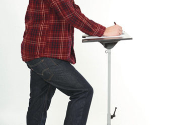 Office Workers Using Standing Desks are Healthier and More Productive